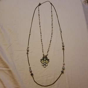 Maurices 2 Tier Fashion Necklace